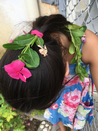 Flower in the Hair