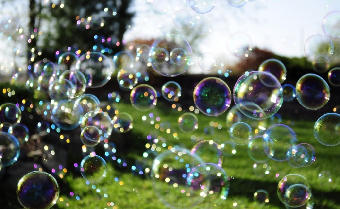 Authors are Children and Words are Bubbles